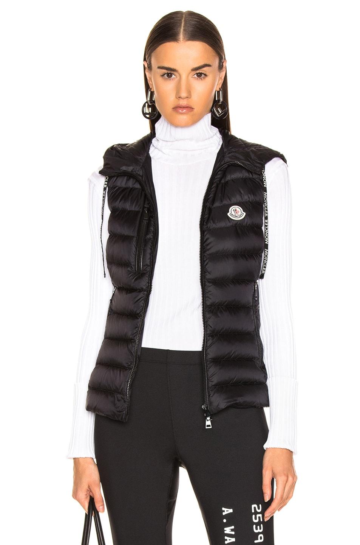 Image 1 of Moncler Sucrette Vest in Black