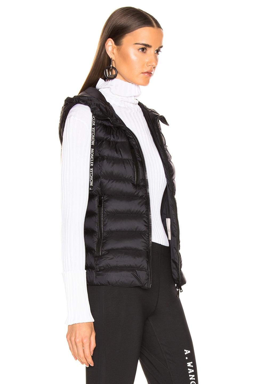 Image 3 of Moncler Sucrette Vest in Black