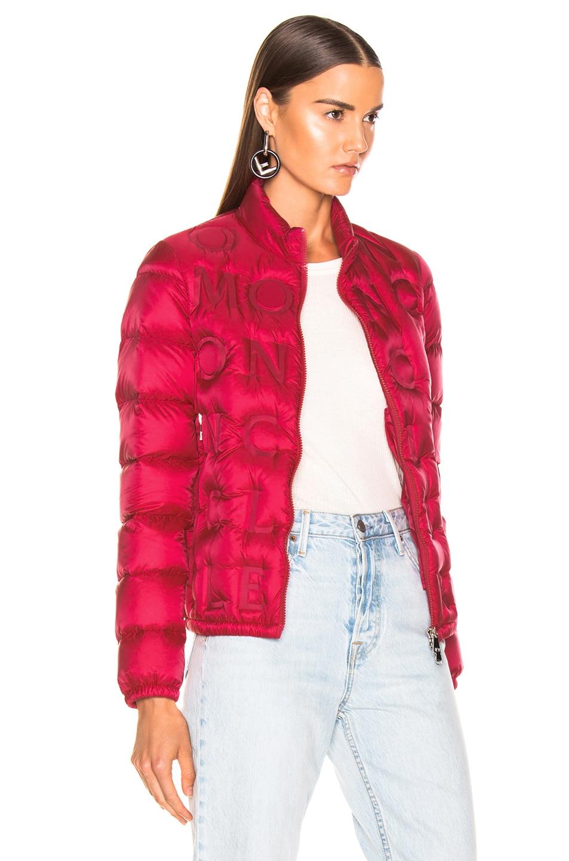 Image 3 of Moncler Vilnius Jacket in Pop Pink
