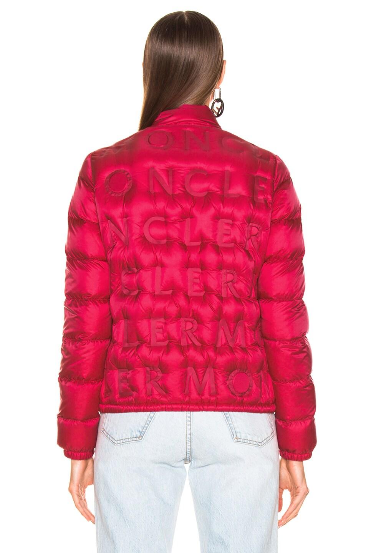 Image 4 of Moncler Vilnius Jacket in Pop Pink