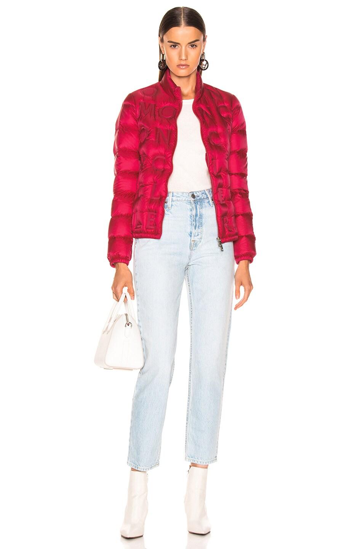 Image 5 of Moncler Vilnius Jacket in Pop Pink