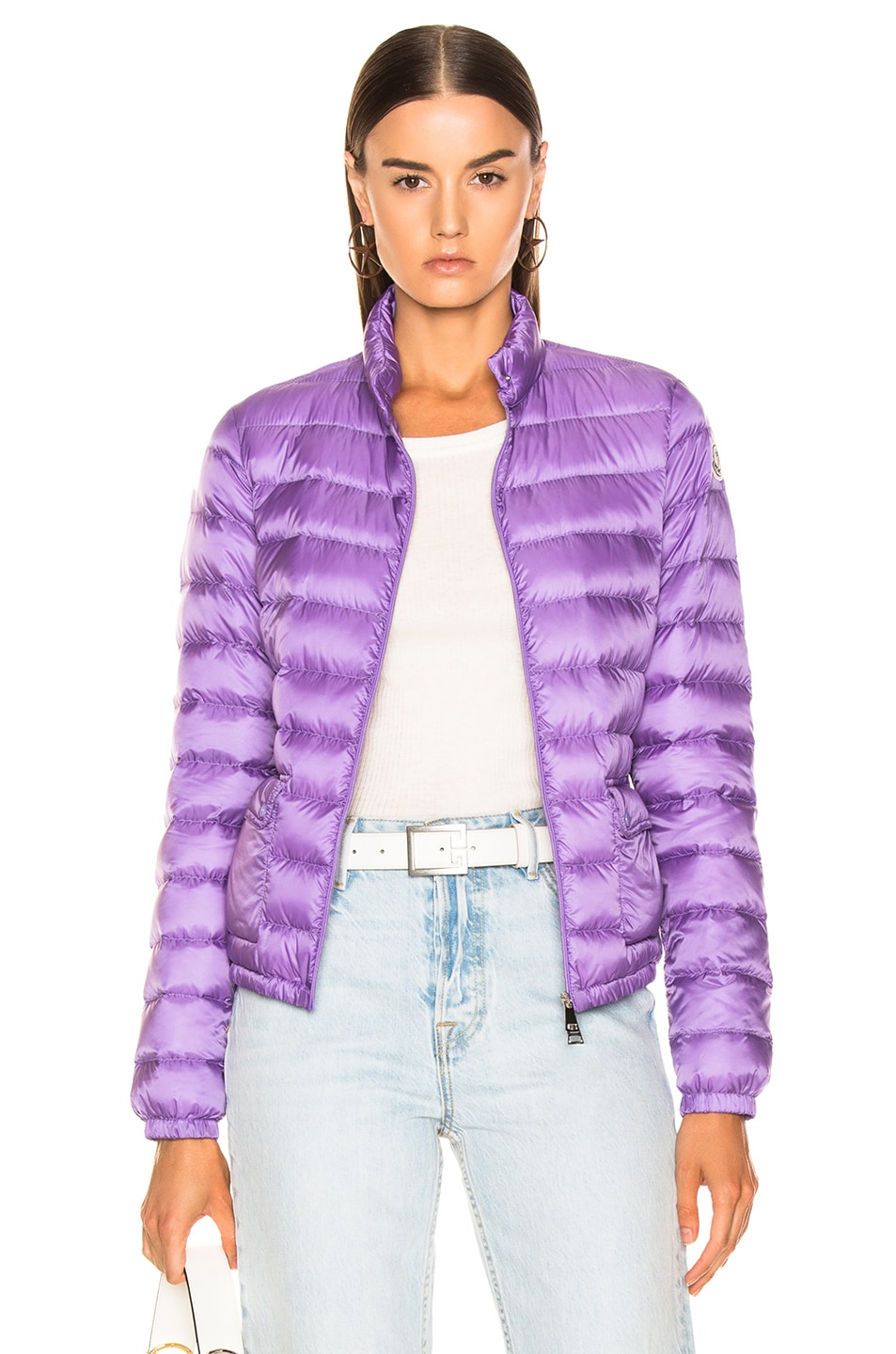Image 1 of Moncler Lans Jacket in Lavender