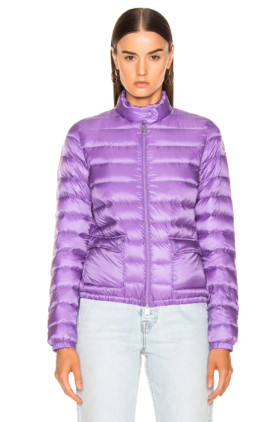 Image 2 of Moncler Lans Jacket in Lavender