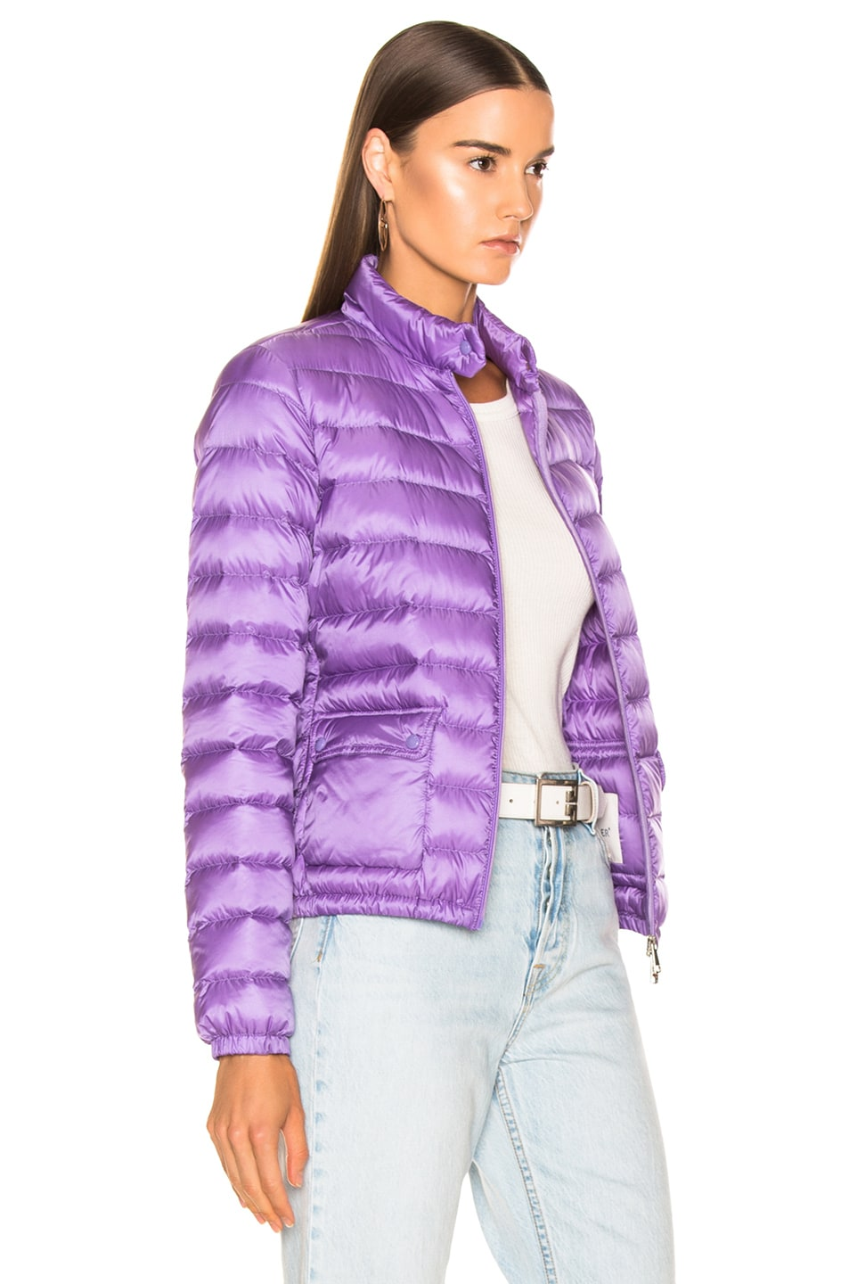 Image 3 of Moncler Lans Jacket in Lavender