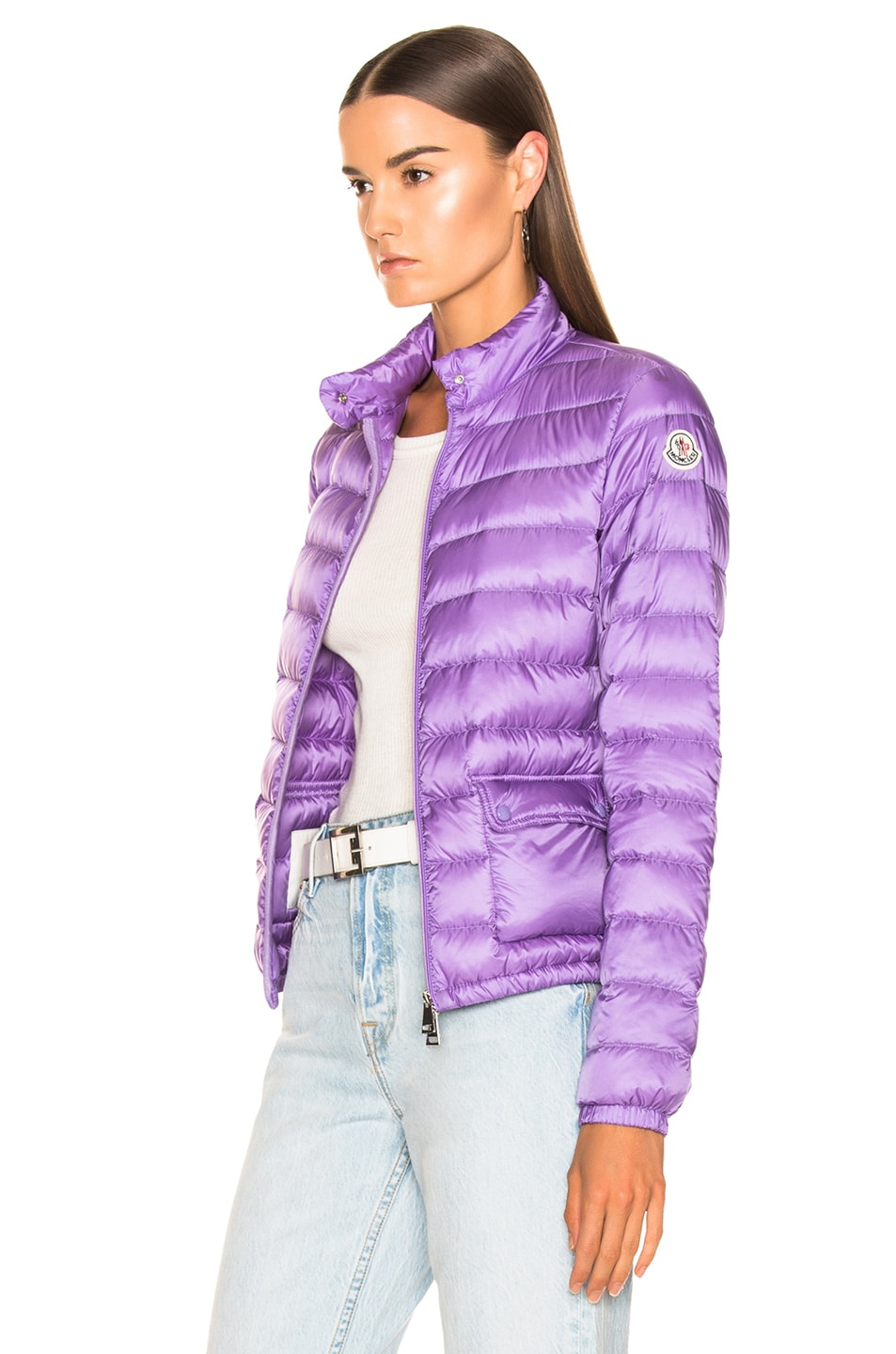 Image 4 of Moncler Lans Jacket in Lavender