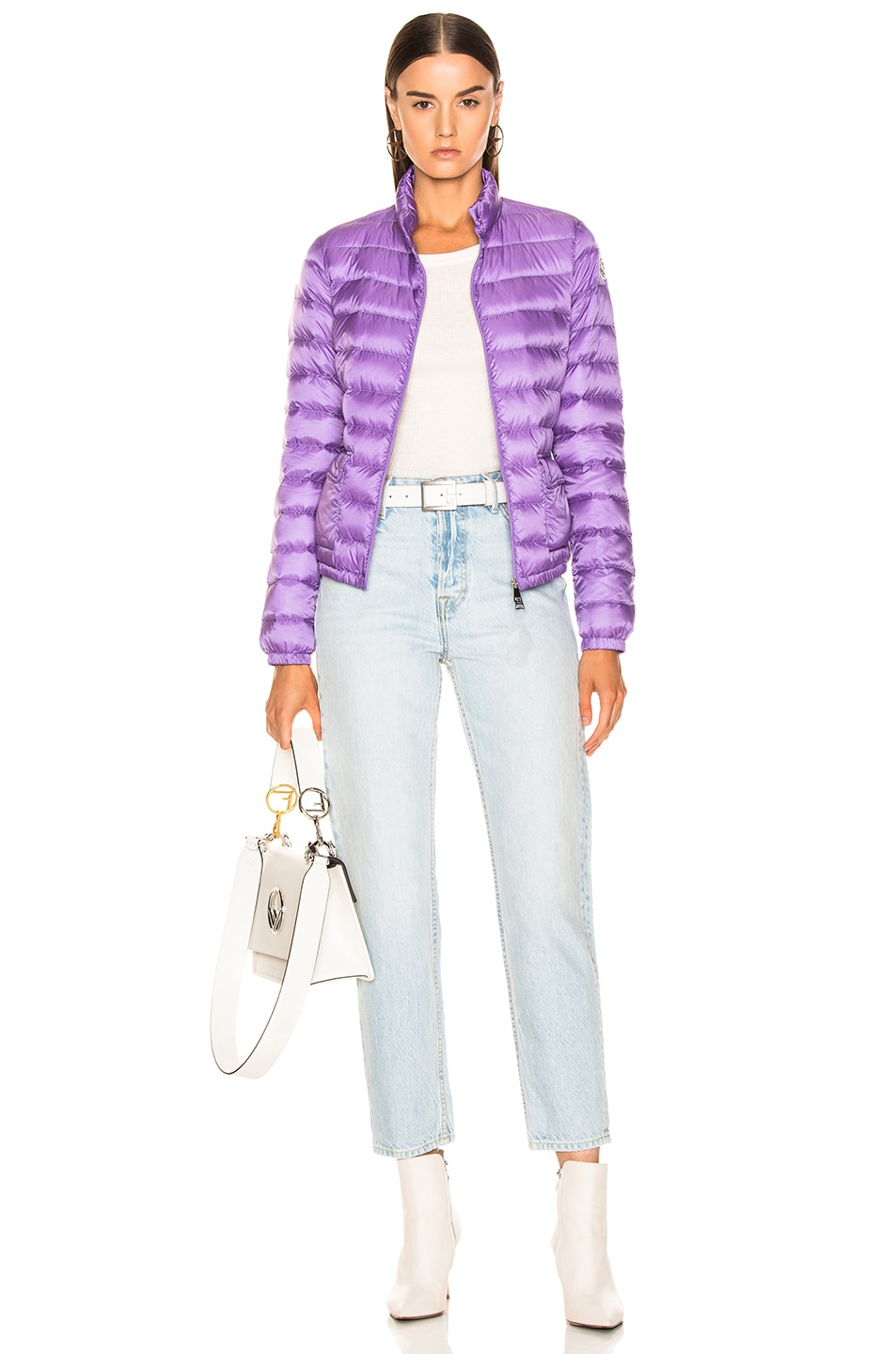 Image 6 of Moncler Lans Jacket in Lavender