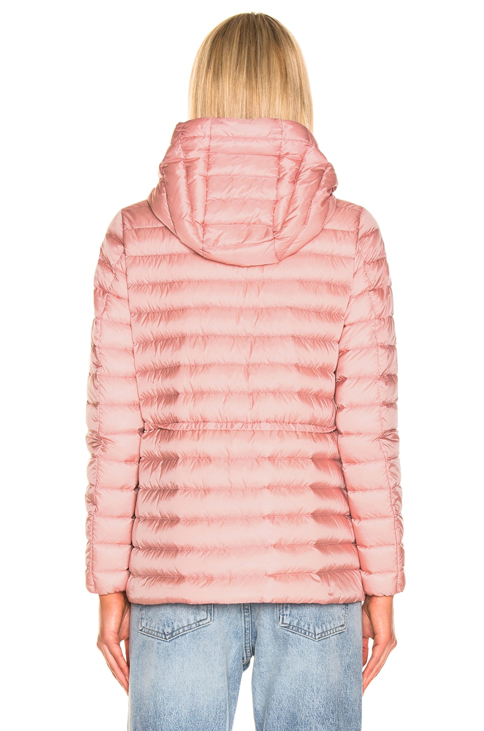 Image 5 of Moncler Raie Short Parka in Blush