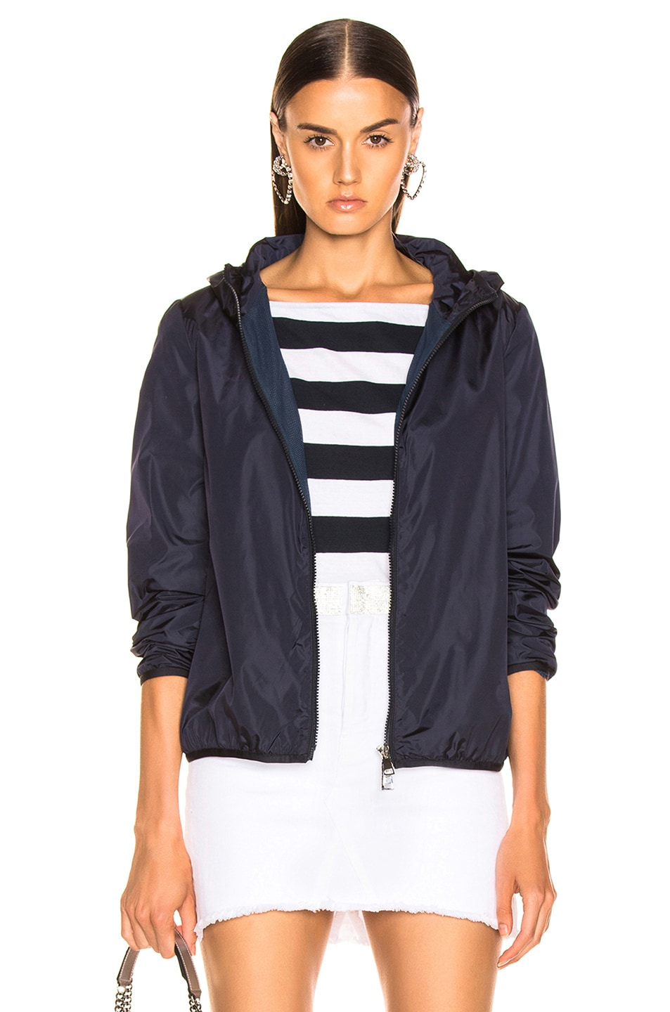 Image 1 of Moncler Vive Jacket in Navy