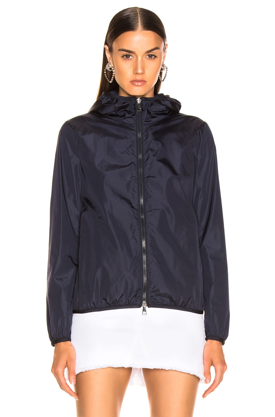 Image 2 of Moncler Vive Jacket in Navy