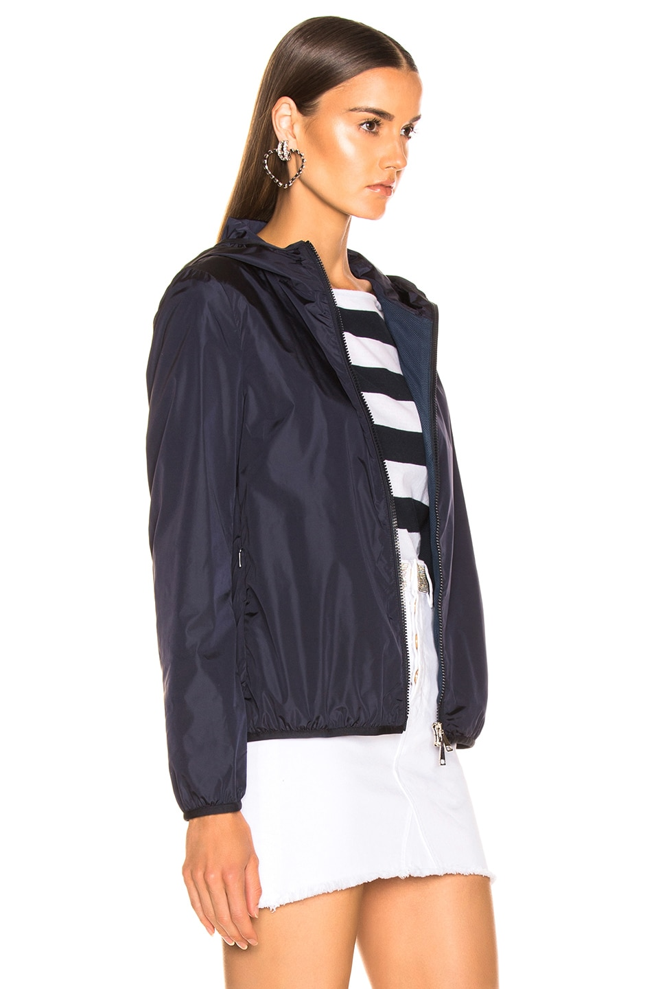 Image 3 of Moncler Vive Jacket in Navy