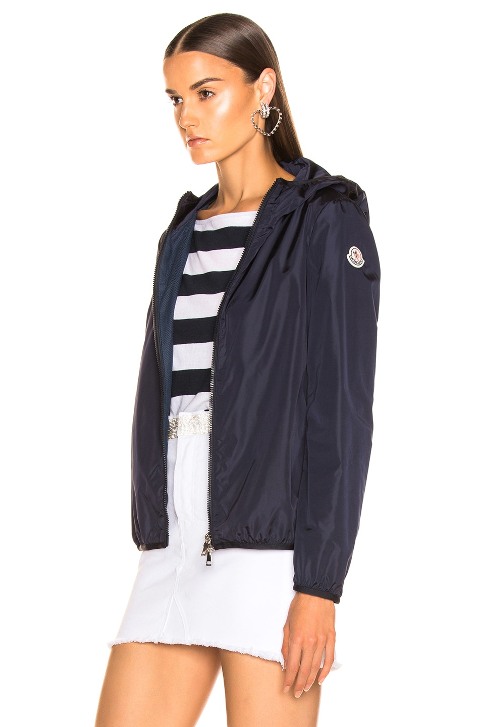Image 4 of Moncler Vive Jacket in Navy