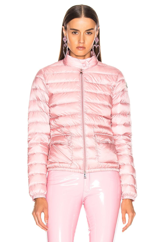 Image 2 of Moncler Lans Jacket in Blush