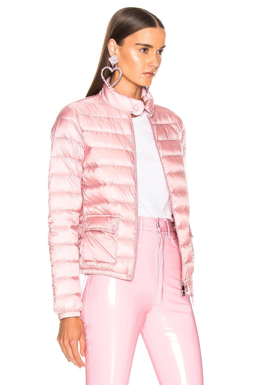 Image 3 of Moncler Lans Jacket in Blush
