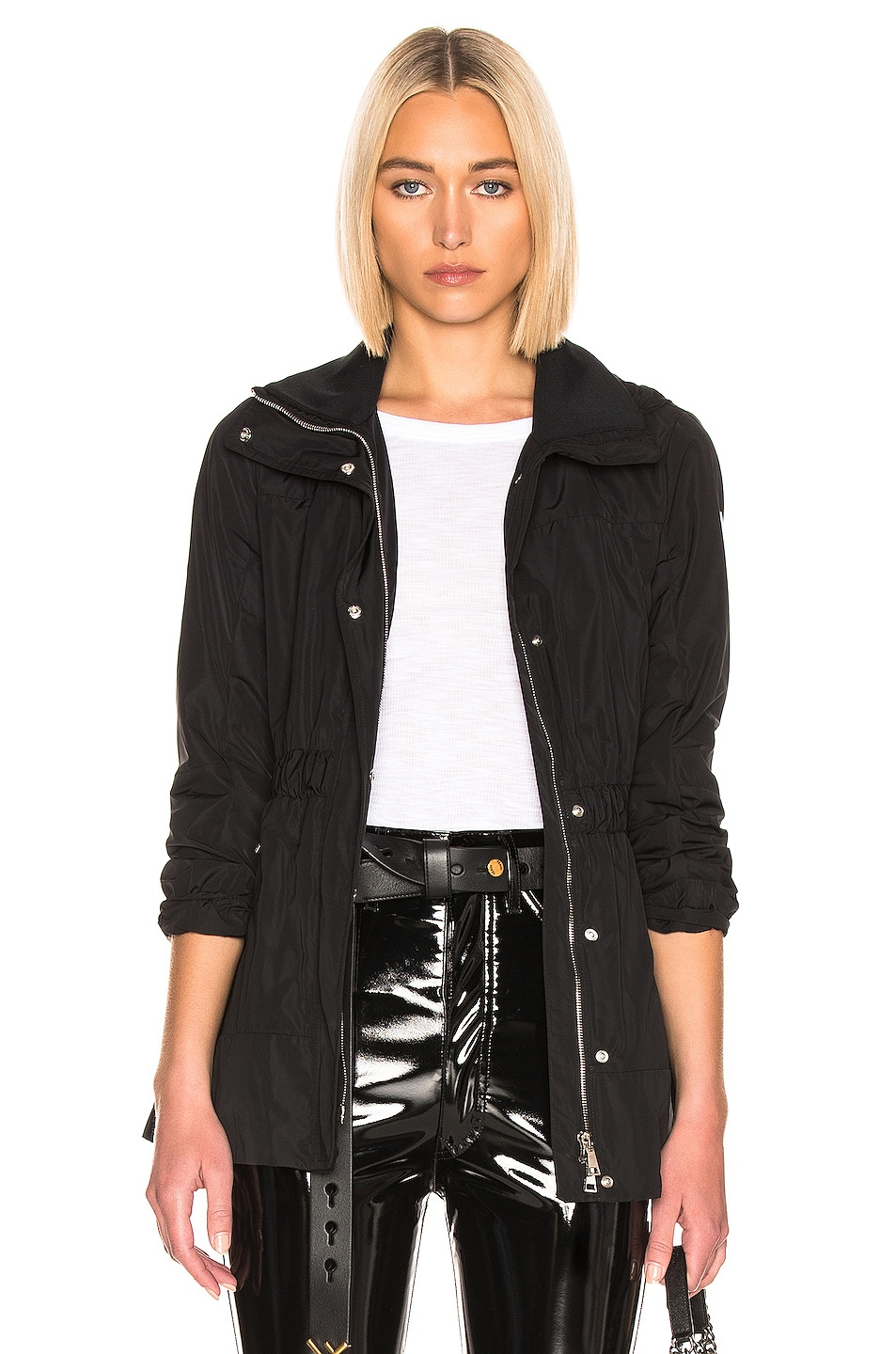 Image 1 of Moncler Disthene Jacket in Black