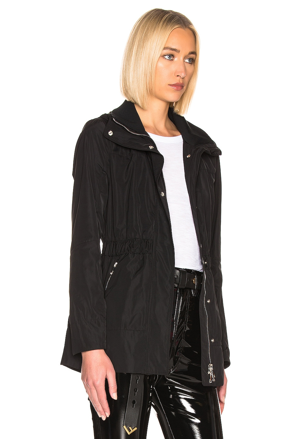 Image 3 of Moncler Disthene Jacket in Black