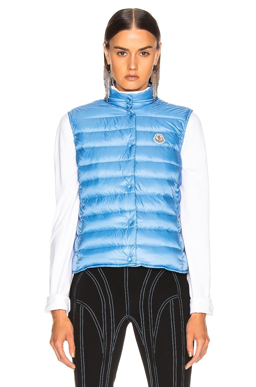 Image 2 of Moncler Liane Vest in Blue