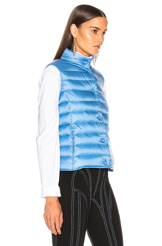 Image 3 of Moncler Liane Vest in Blue