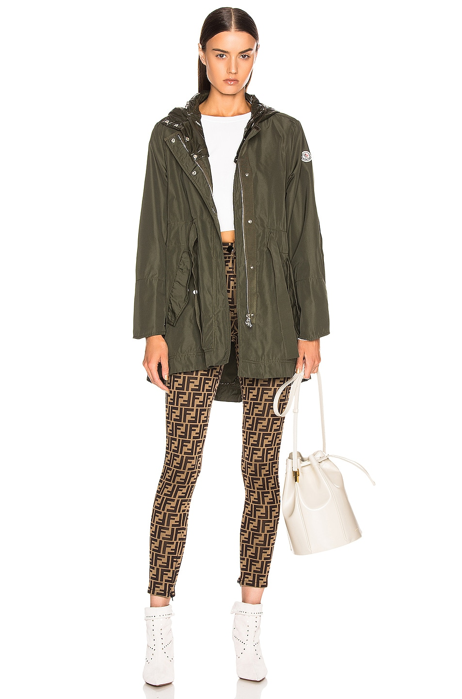 Image 1 of Moncler Mascate Jacket in Army Green