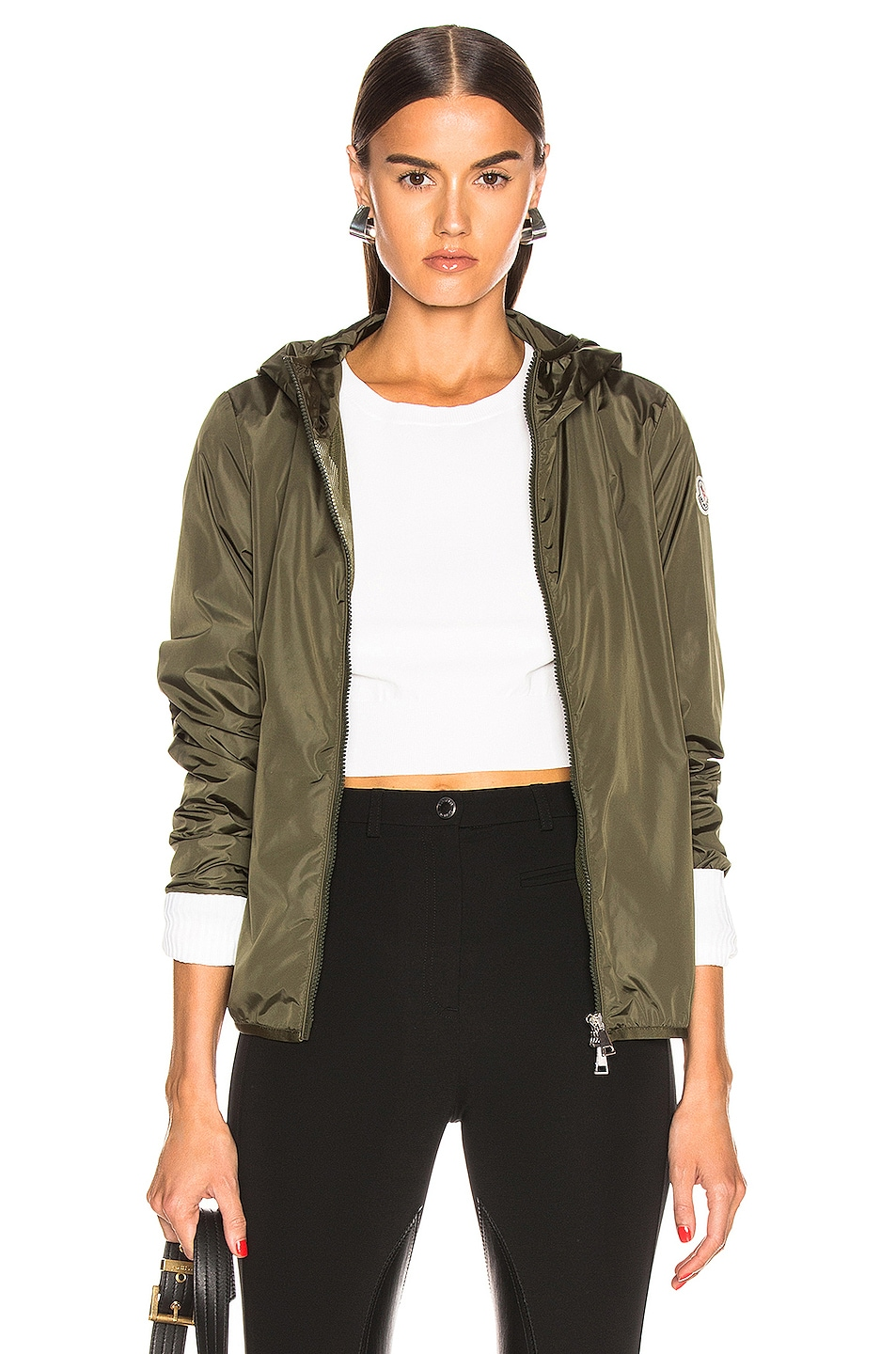 Image 1 of Moncler Vive Jacket in Olive