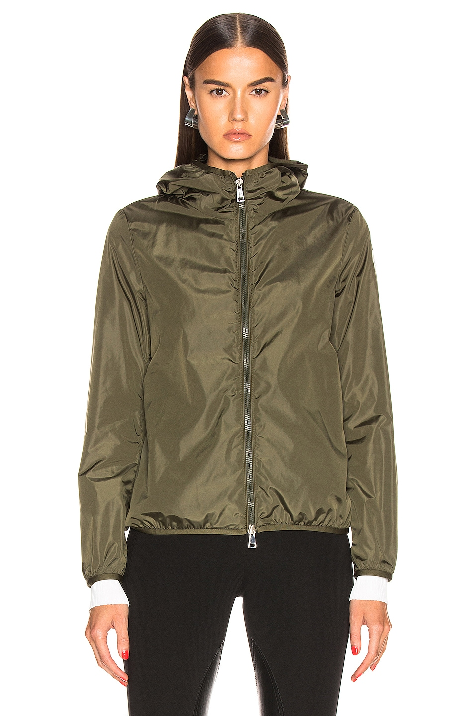 Image 2 of Moncler Vive Jacket in Olive