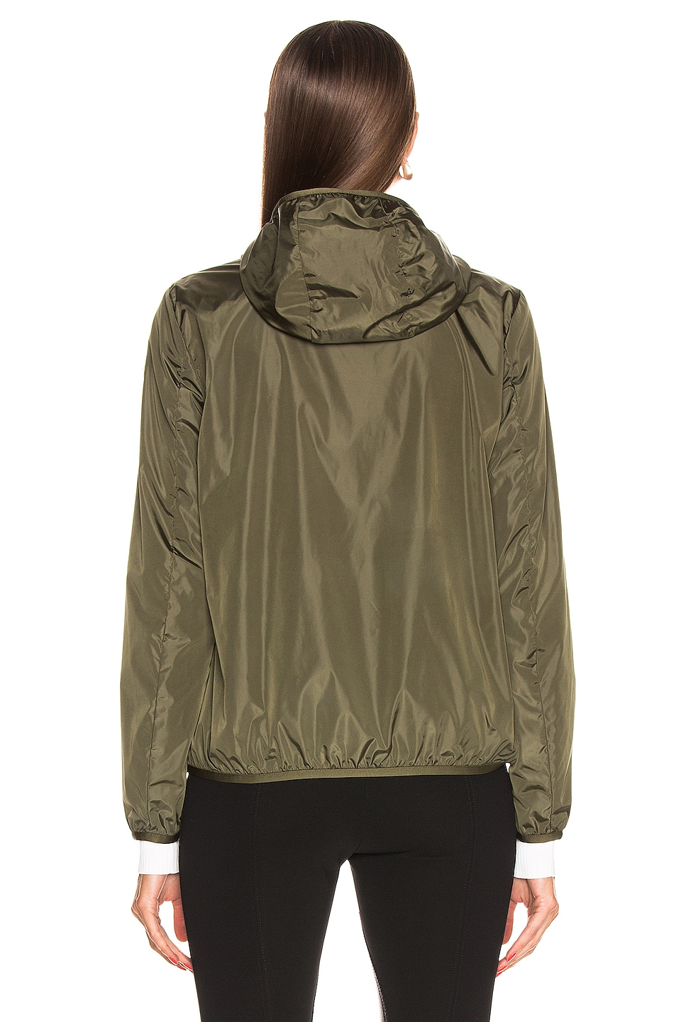 Image 5 of Moncler Vive Jacket in Olive