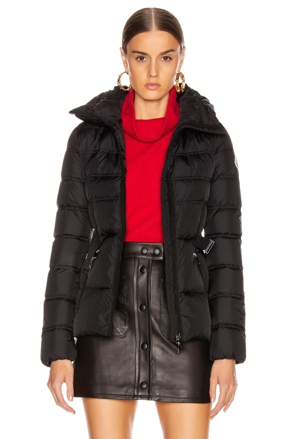 Image 2 of Moncler Alouette Jacket in Black