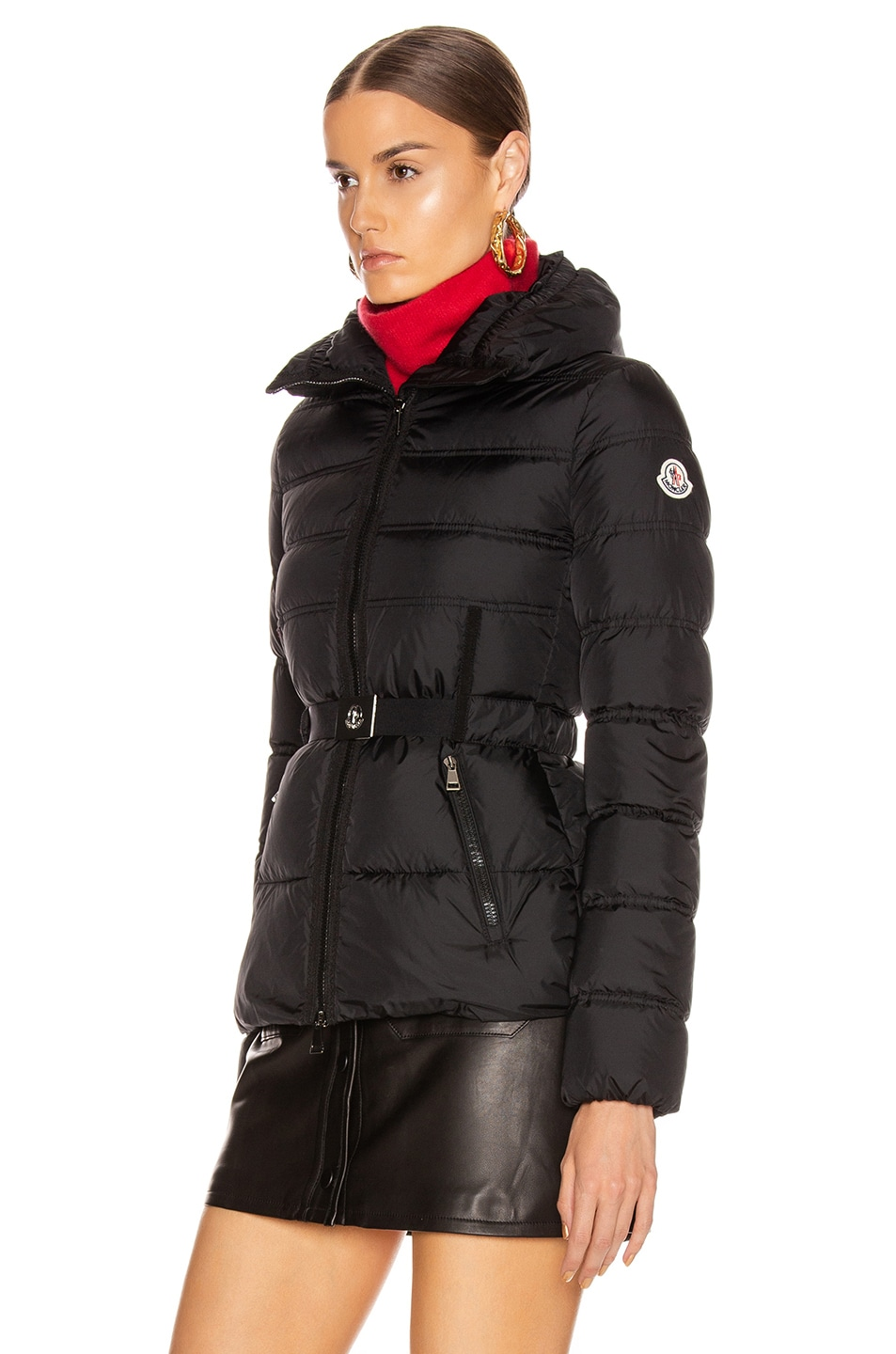 Image 4 of Moncler Alouette Jacket in Black