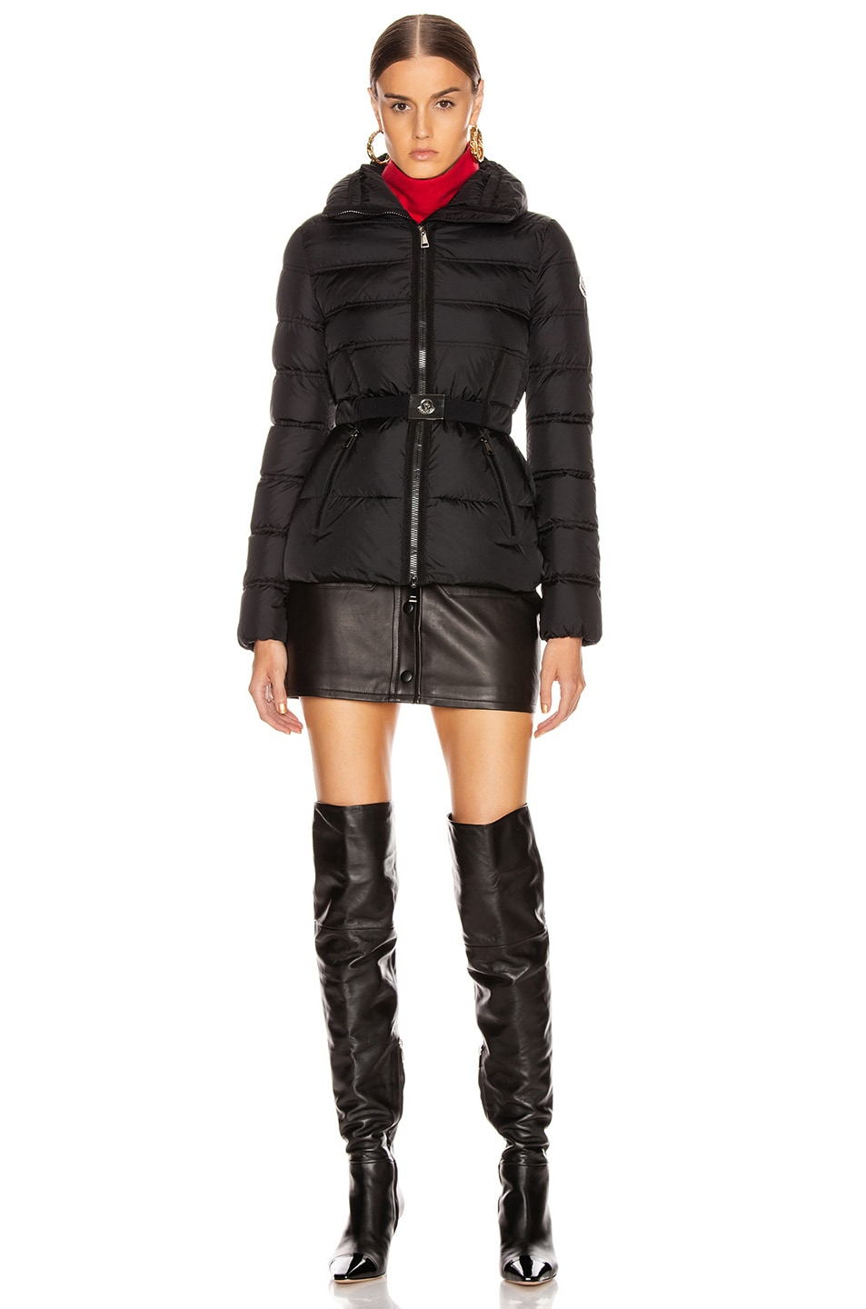 Image 6 of Moncler Alouette Jacket in Black
