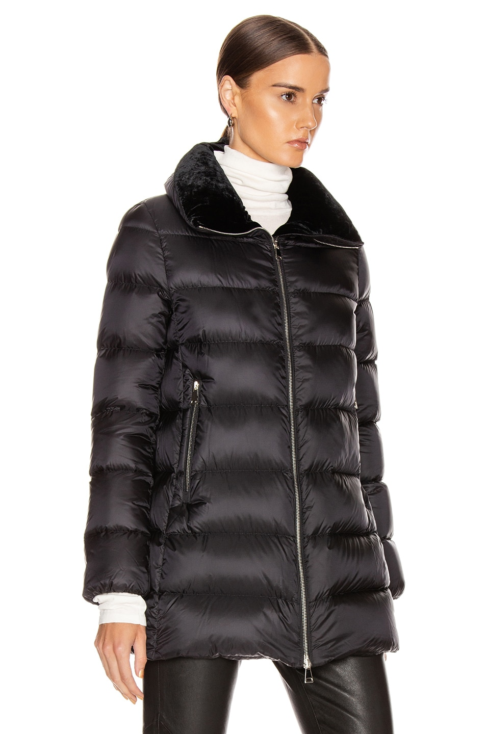 Image 3 of Moncler Torcon Jacket in Black