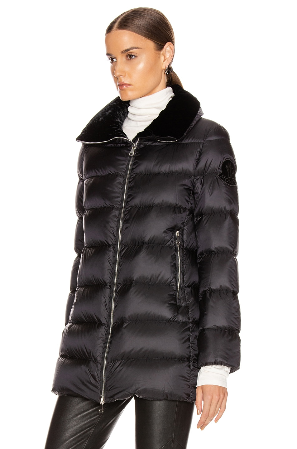 Image 4 of Moncler Torcon Jacket in Black