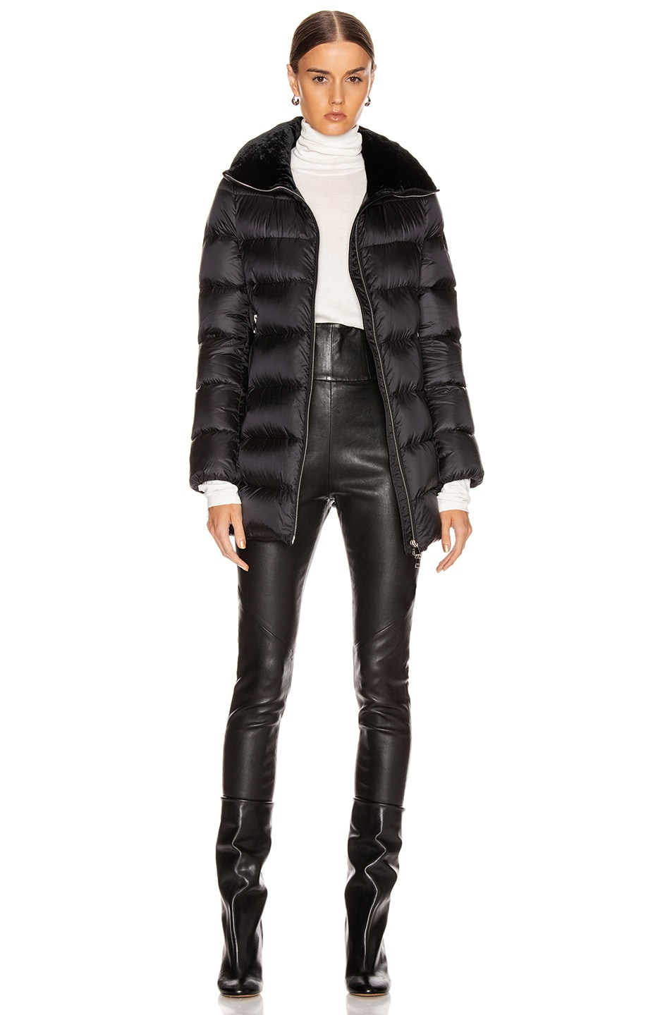 Image 6 of Moncler Torcon Jacket in Black