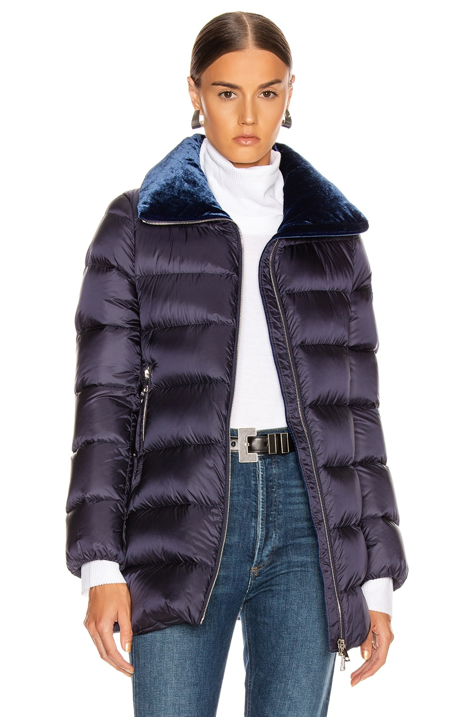 Image 1 of Moncler Torcon Jacket in Navy