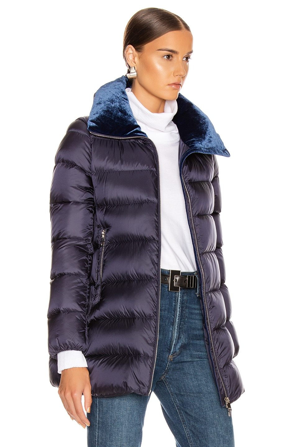 Image 3 of Moncler Torcon Jacket in Navy