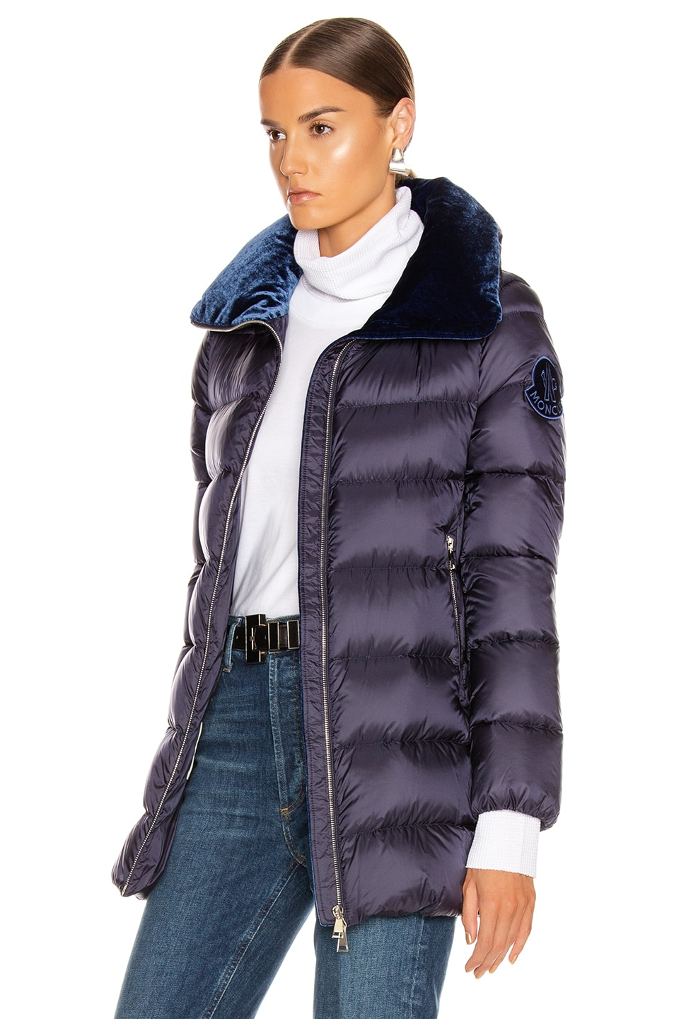 Image 4 of Moncler Torcon Jacket in Navy