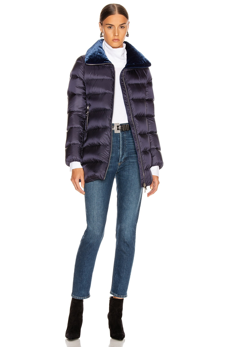 Image 6 of Moncler Torcon Jacket in Navy