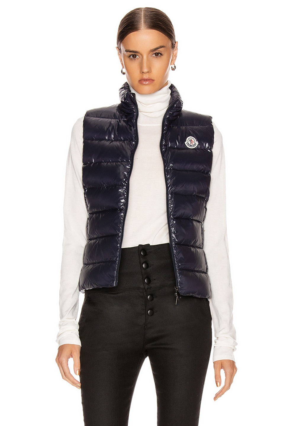 Image 1 of Moncler Ghany Vest in Navy