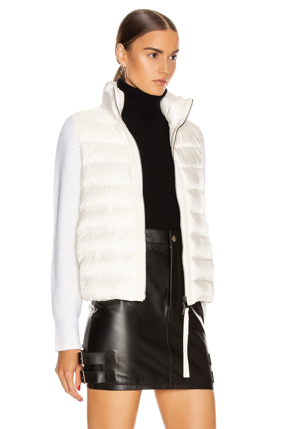 Image 3 of Moncler Tricot Cardigan in White