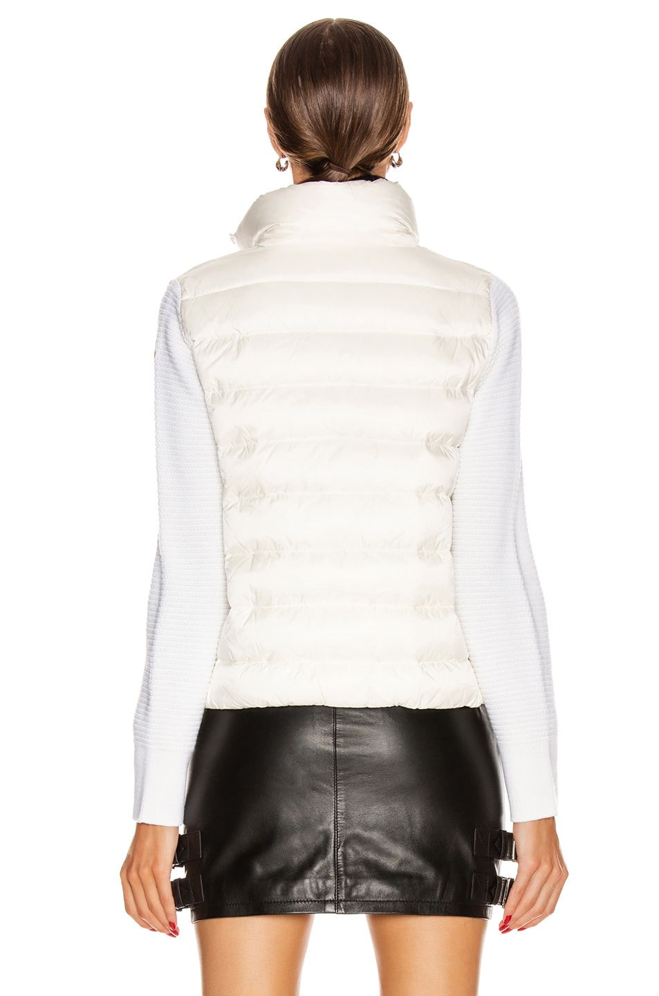 Image 5 of Moncler Tricot Cardigan in White
