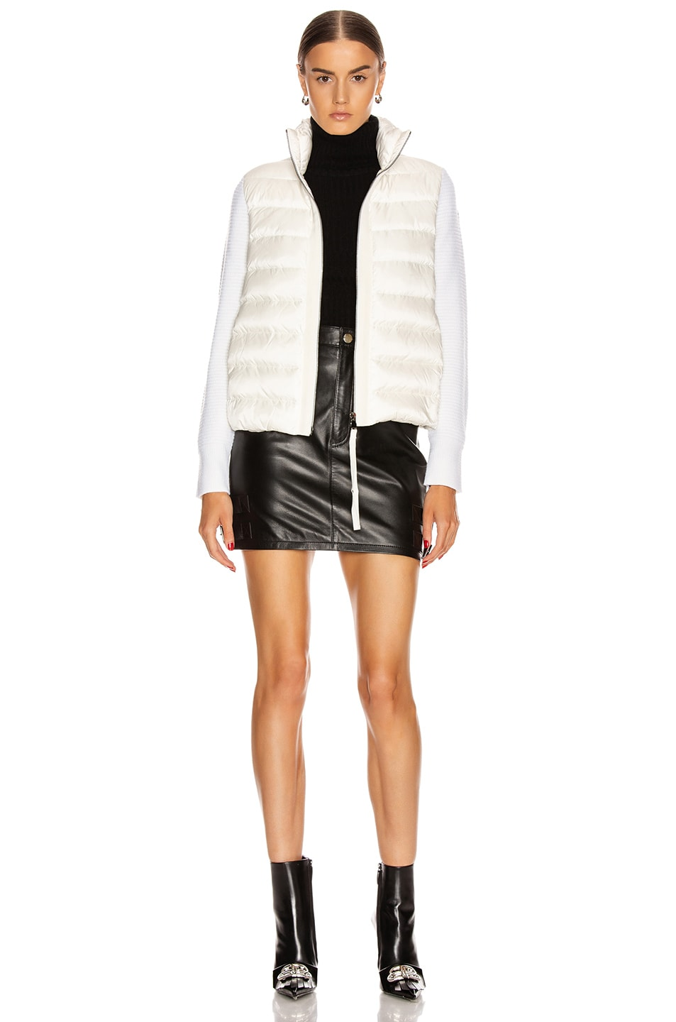 Image 6 of Moncler Tricot Cardigan in White