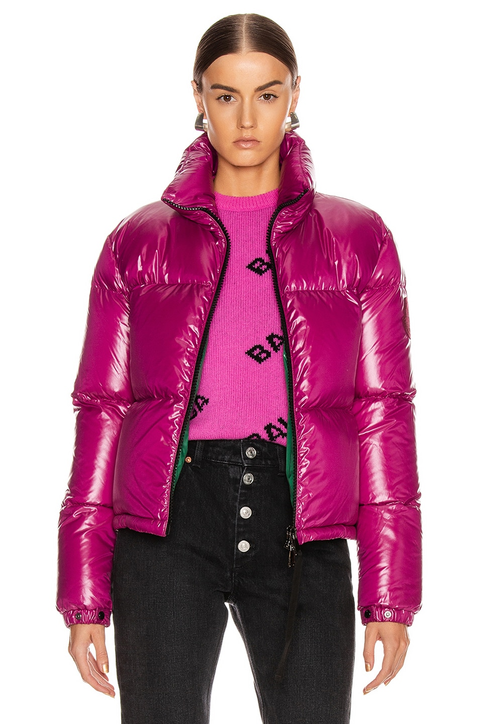 Image 1 of Moncler Rimac Jacket in Berry