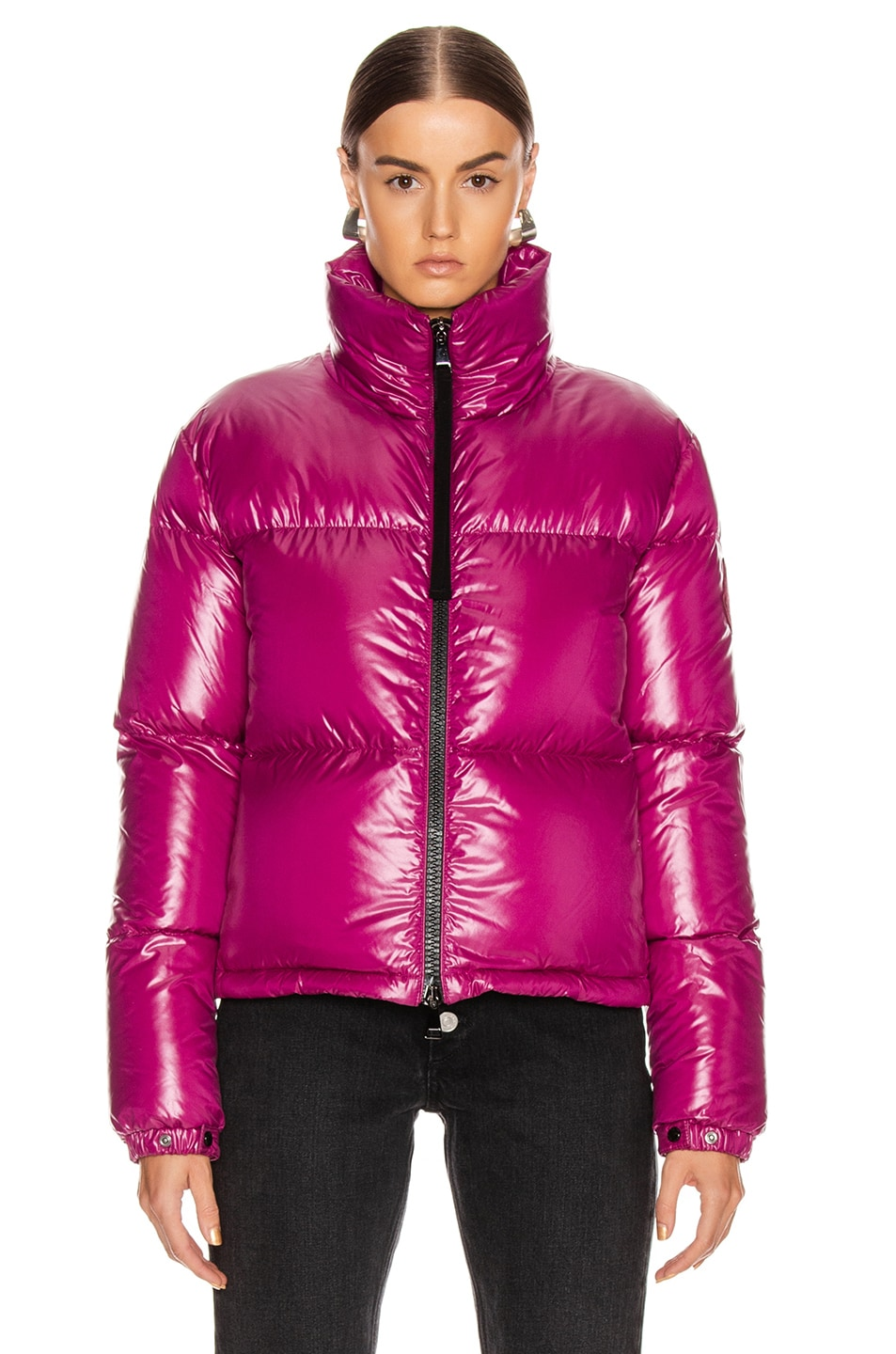 Image 2 of Moncler Rimac Jacket in Berry