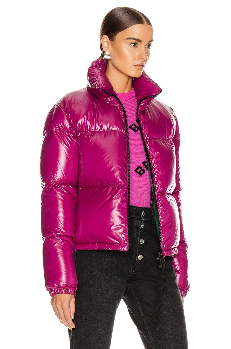 Image 3 of Moncler Rimac Jacket in Berry