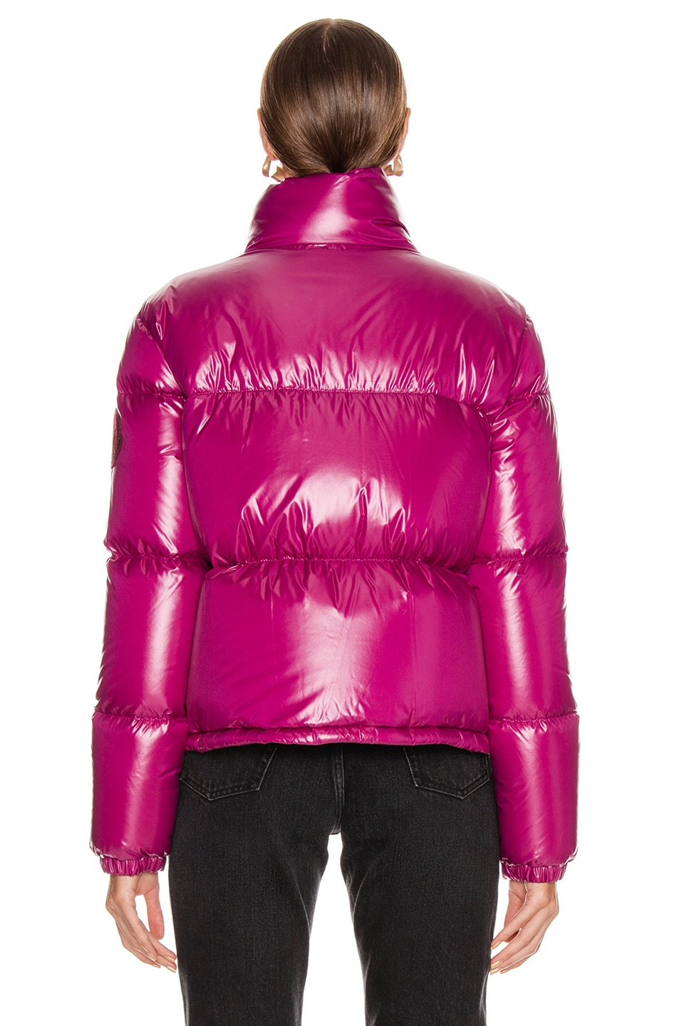 Image 5 of Moncler Rimac Jacket in Berry