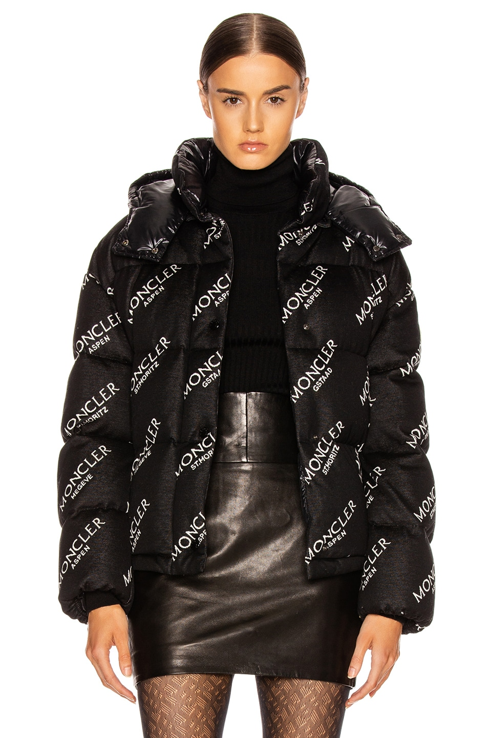 Image 1 of Moncler Caille Jacket in Black