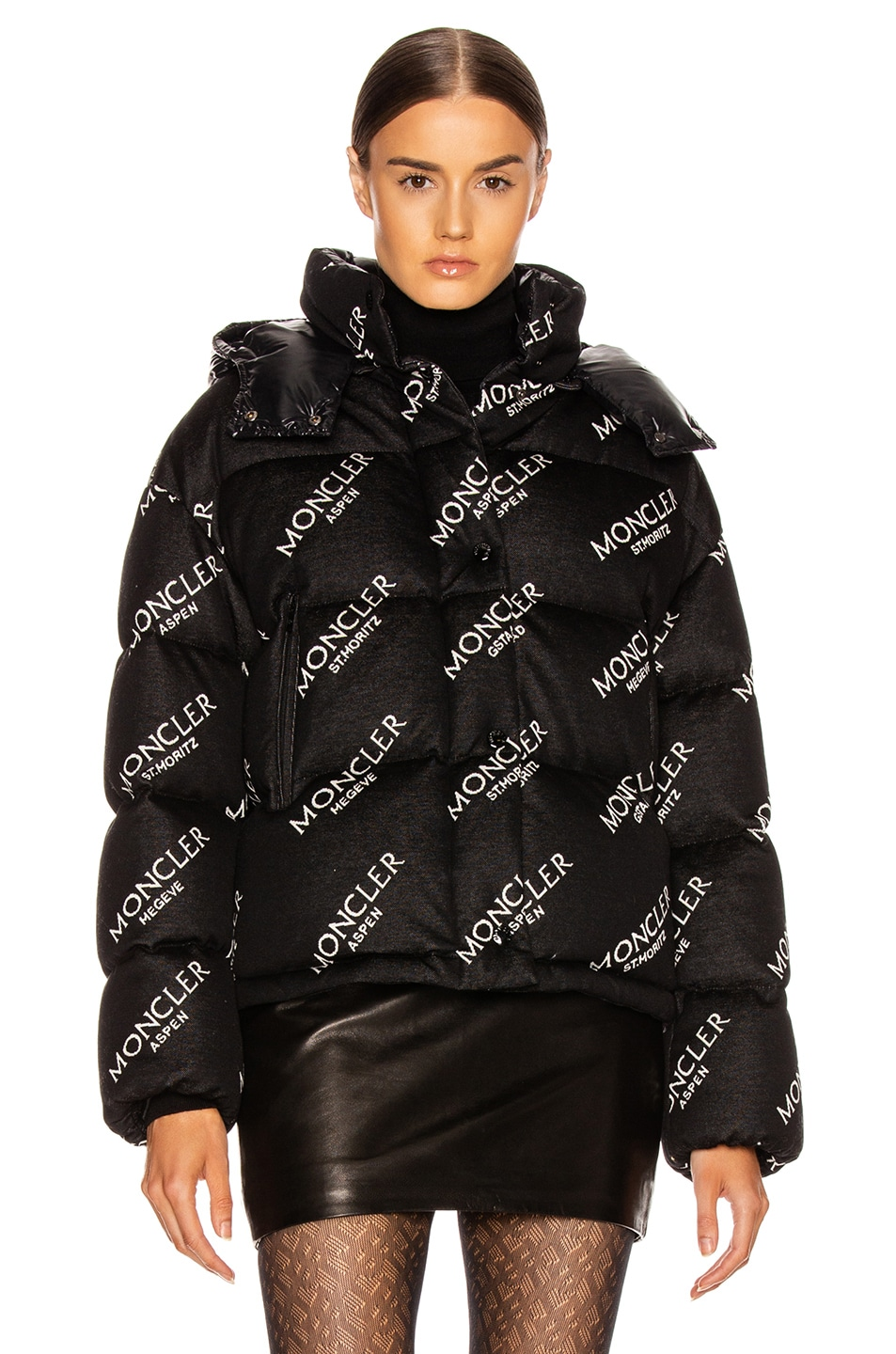 Image 2 of Moncler Caille Jacket in Black