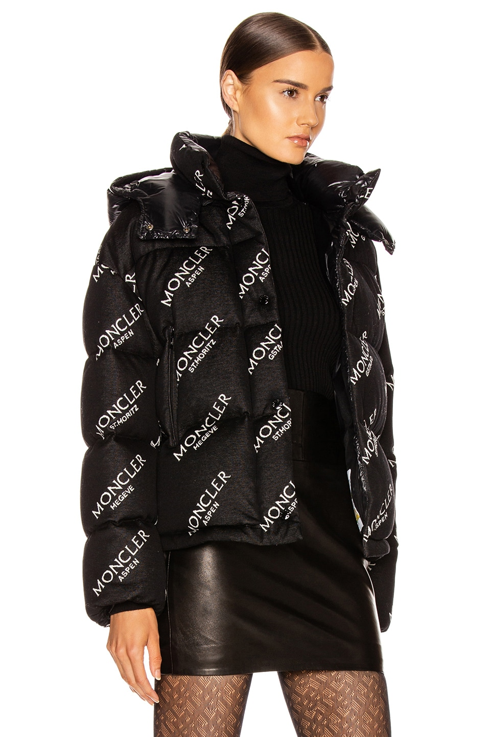 Image 3 of Moncler Caille Jacket in Black