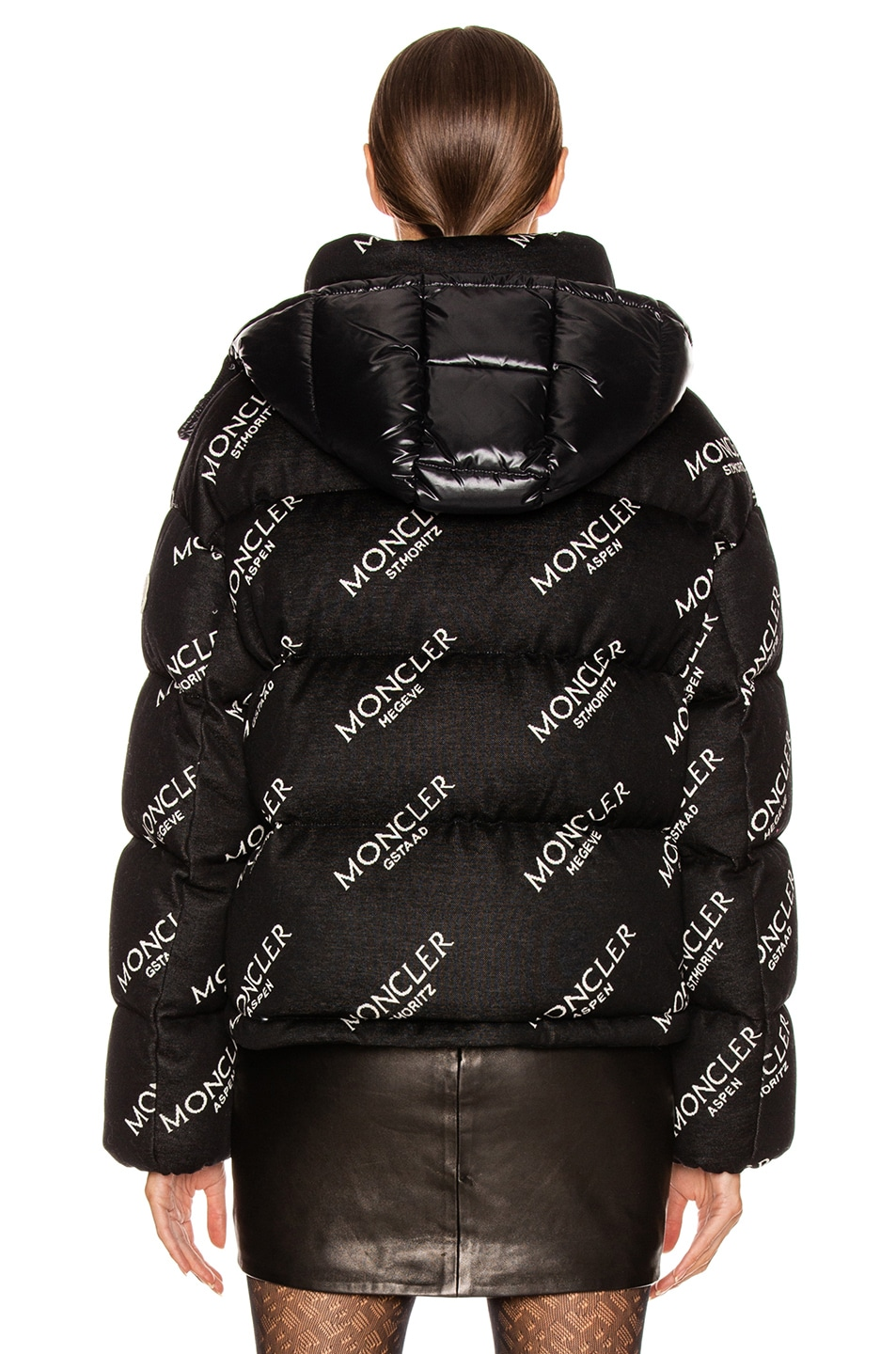 Image 4 of Moncler Caille Jacket in Black