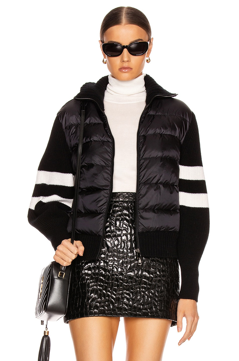 Image 1 of Moncler Tricot Cardigan in Black