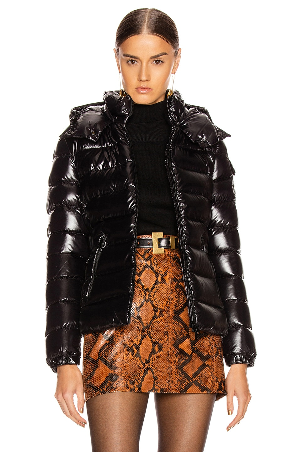 Image 1 of Moncler Bady Giubbotto Jacket in Black