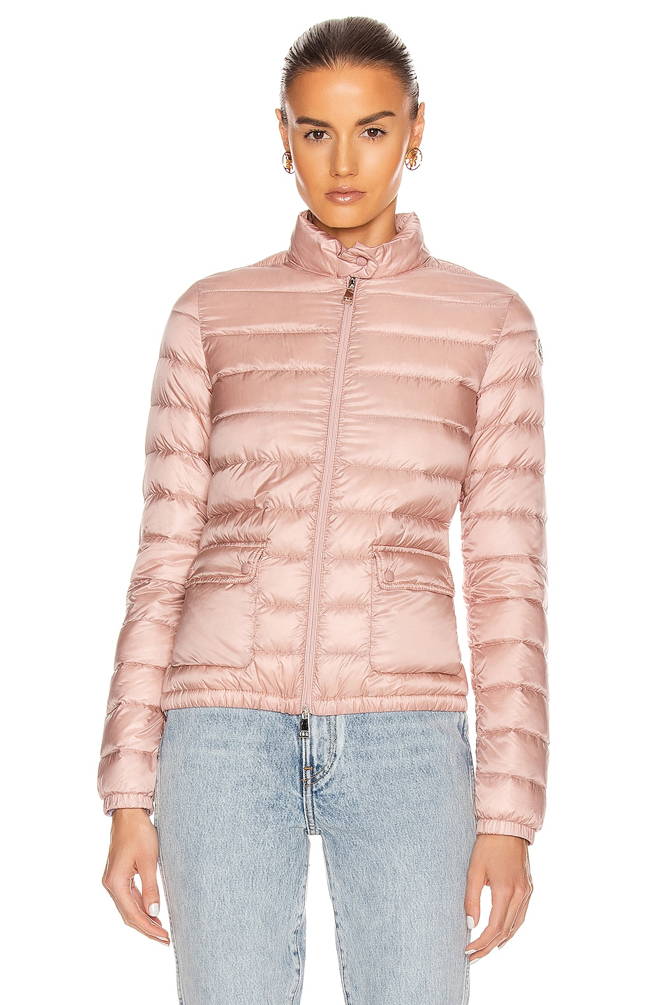 Image 2 of Moncler Lans Giubbotto Jacket in Blush